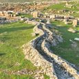 Natural Channel Among Marble Ruins at Hierapolis, Turkey