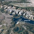 Grand Teton Range from Landsat