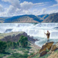 Archive - Meriwether Lewis at Great Falls