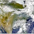 Smoke Over North America