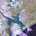 New Lakes In Mozambique, Africa