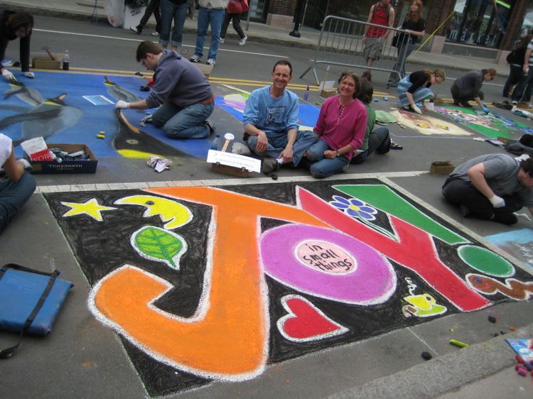 20091019 – Monday - Sidewalk Chalk and the Calcium Cycle