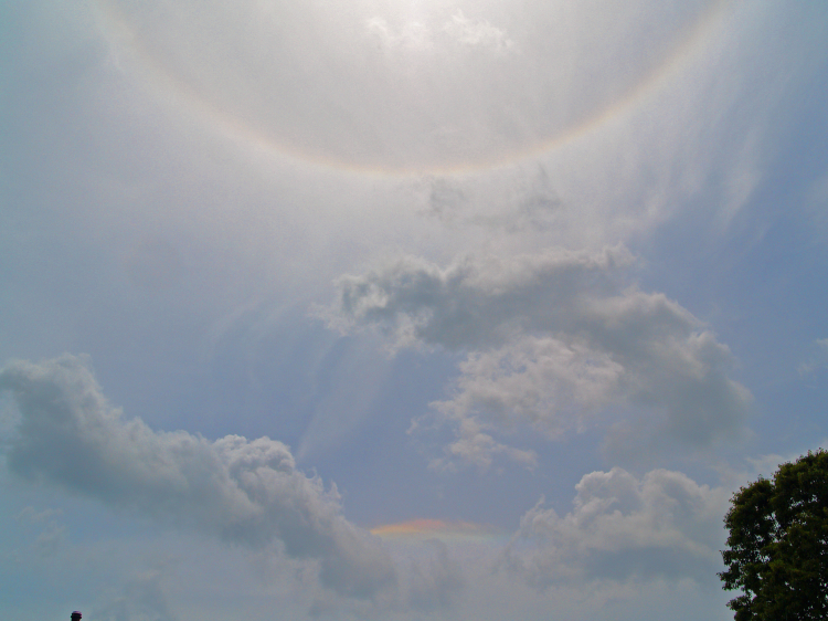 22 Degree Halo and Circumhorizontal Arc