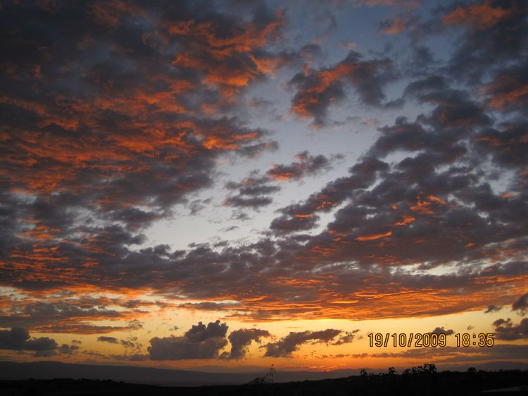 20100206 – Saturday - Sunset Over Serres, Greece