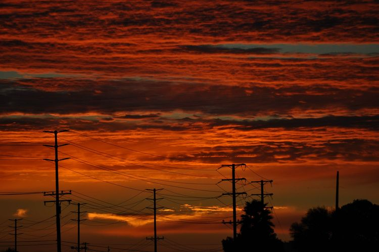 20100224 – Wednesday - Sunset Over Camarillo, California