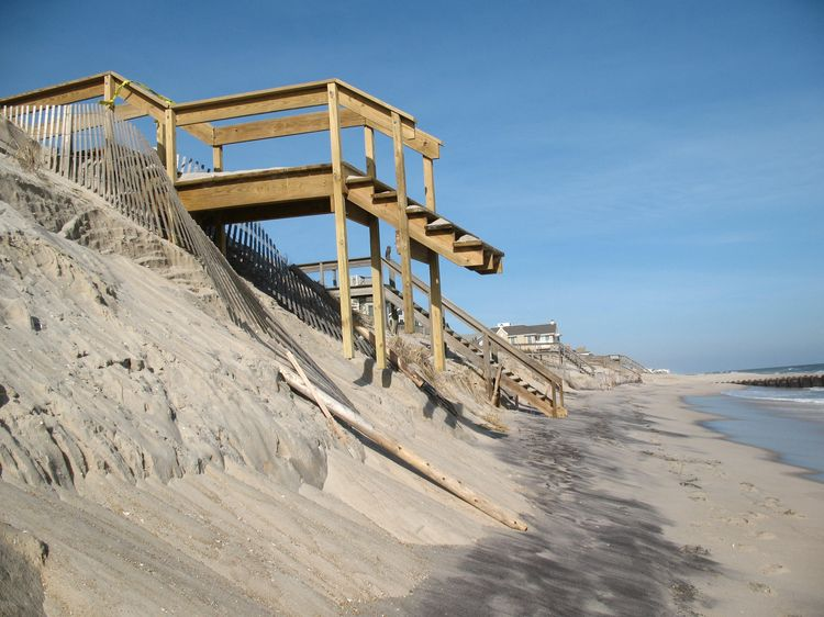 Beach Erosion in NJ