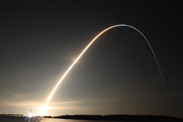 20100216 – Tuesday - Space Shuttle Endeavor Lifts Off