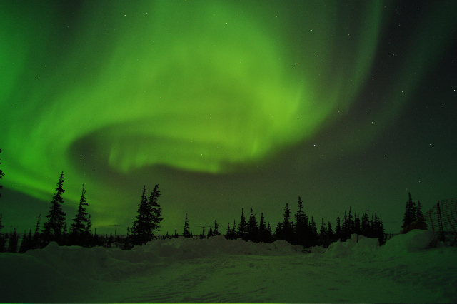 20100415 – Thursday - Aurora Above Churchill, Manitoba