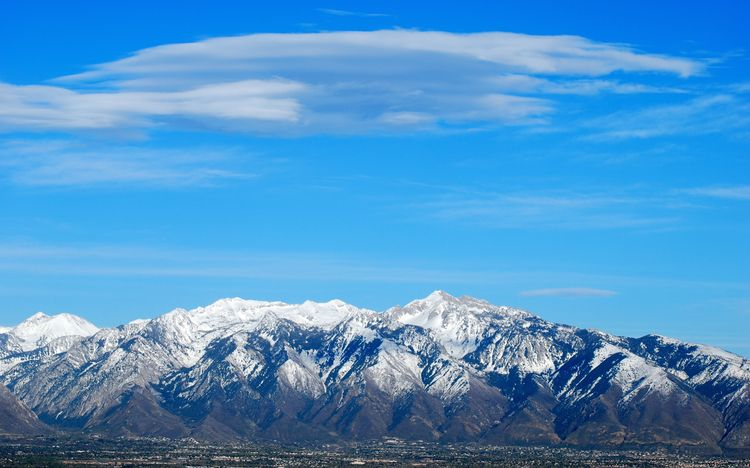 20100529 – Saturday - The Wasatch Mountains and Salt Lake Valley