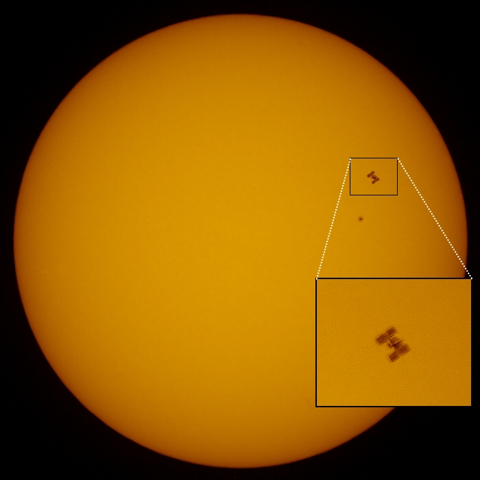 20100604 – Friday - ISS Transit of the Sun