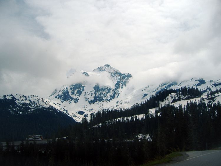 Mount Baker in Spring