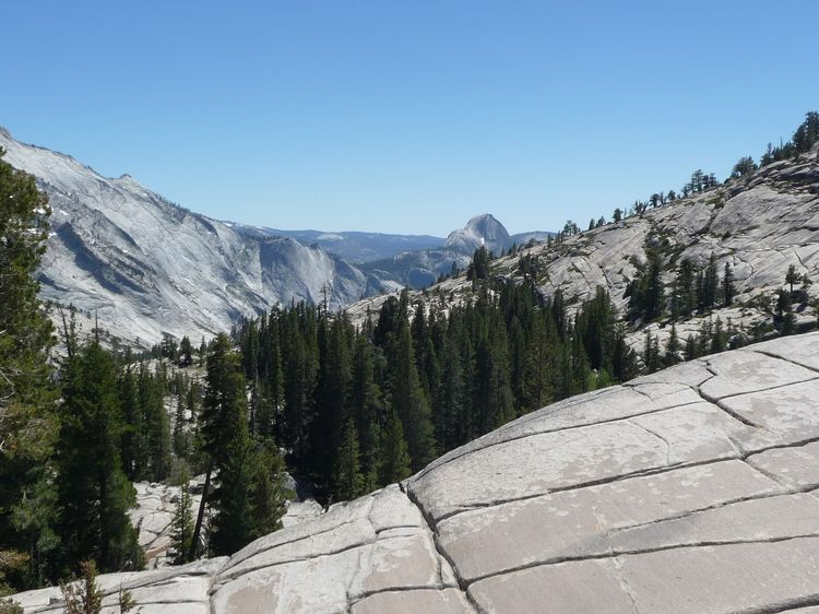 Half Dome From Olmsted Point (2)
