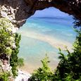 Arch Rock on Mackinac Island, Michigan