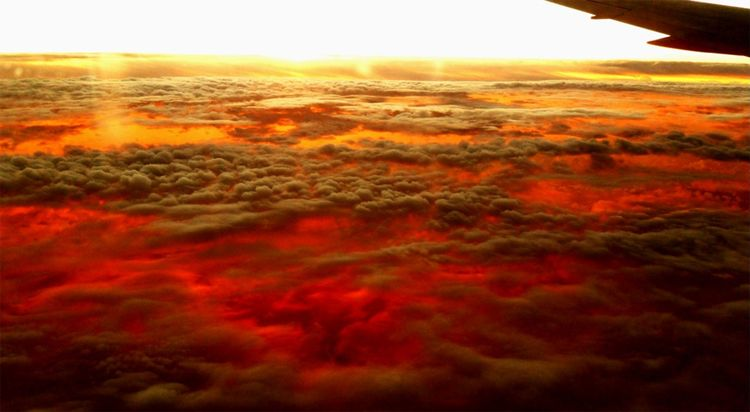Sunset over the atlantic 2