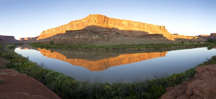 Sunrise - White Rim - Canyonlands NP - IMG_2884