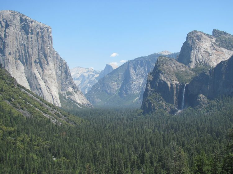 Yosemite National Park Tunnel View May 19 2012 (2)