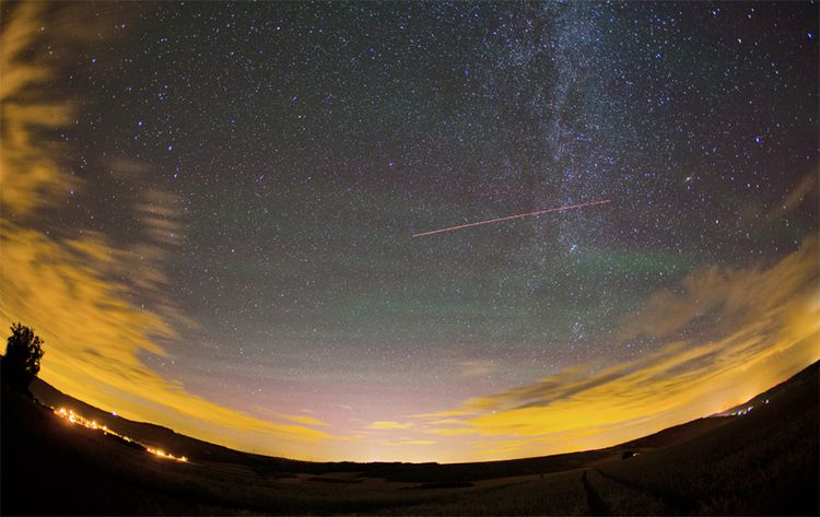 Airglow Over Germany 2