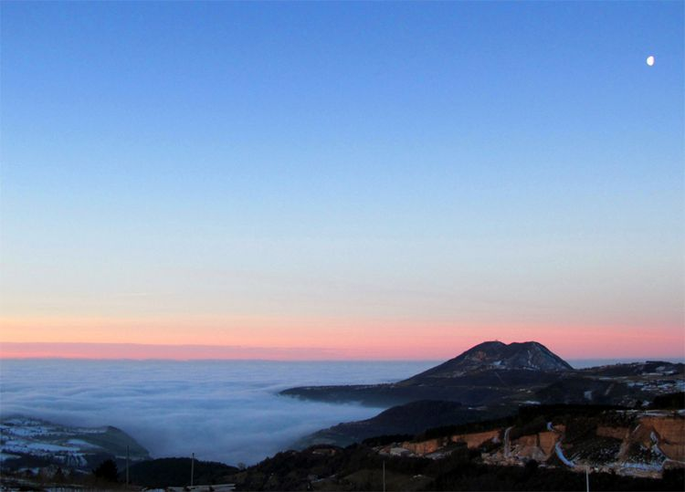 Fog in the Padanian Valley of Italy 3