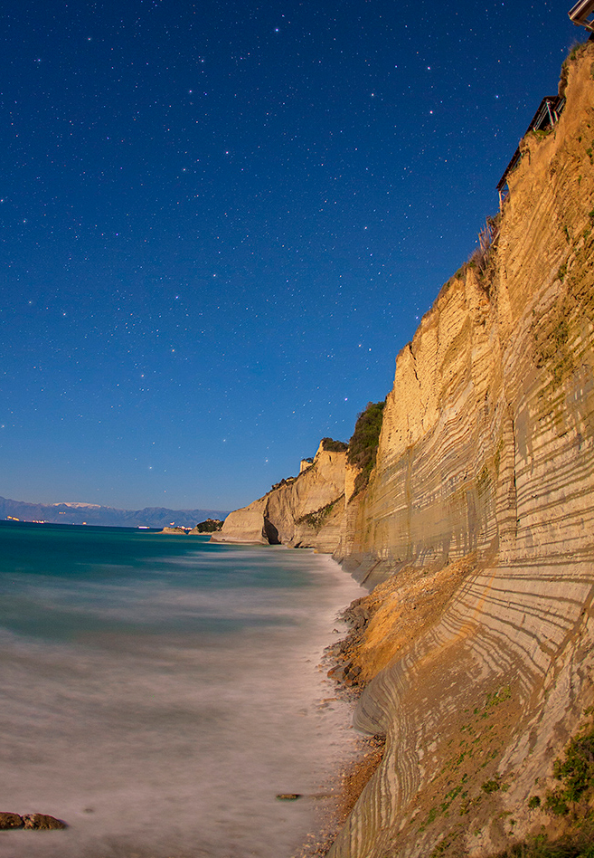 Logas Beach on Corfu Island, Greece2