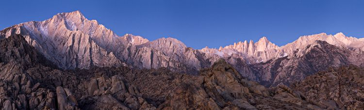 Lone Pine Peak and Mount Witney (2)