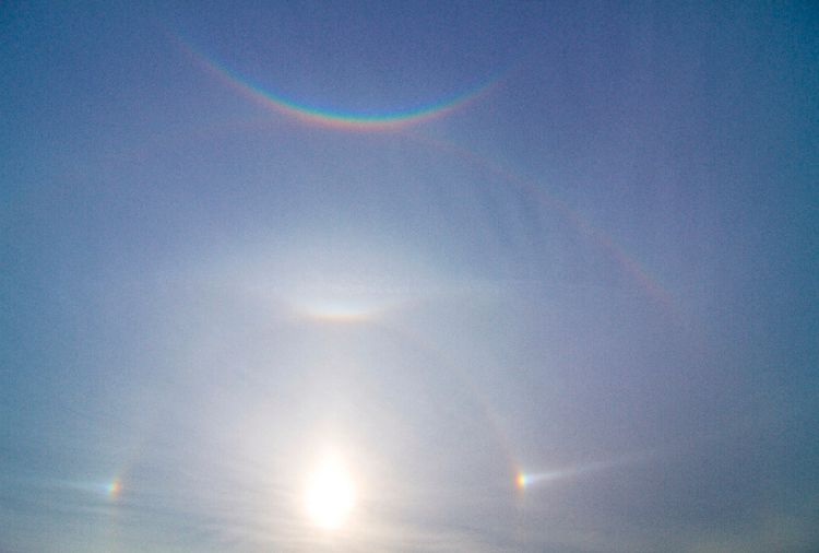 Halo Complex Above Hanover, Germany 2