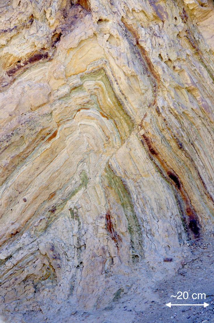 folding and faulting in the calico mountains epod a service of usra