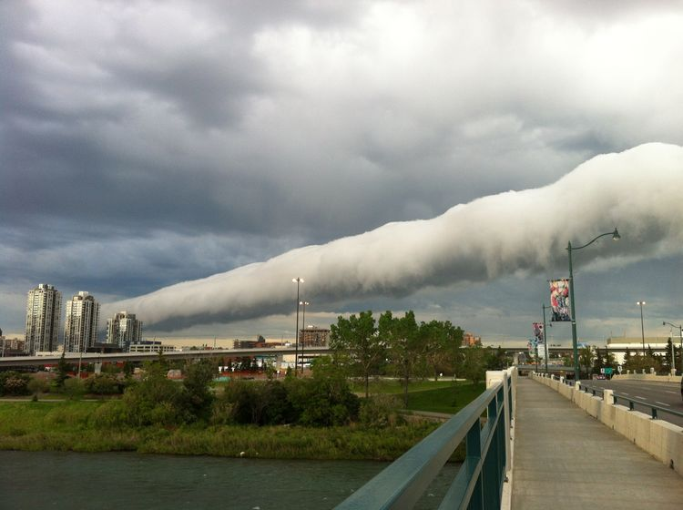 Earth Science Picture Of The Day – A Roll Cloud ...