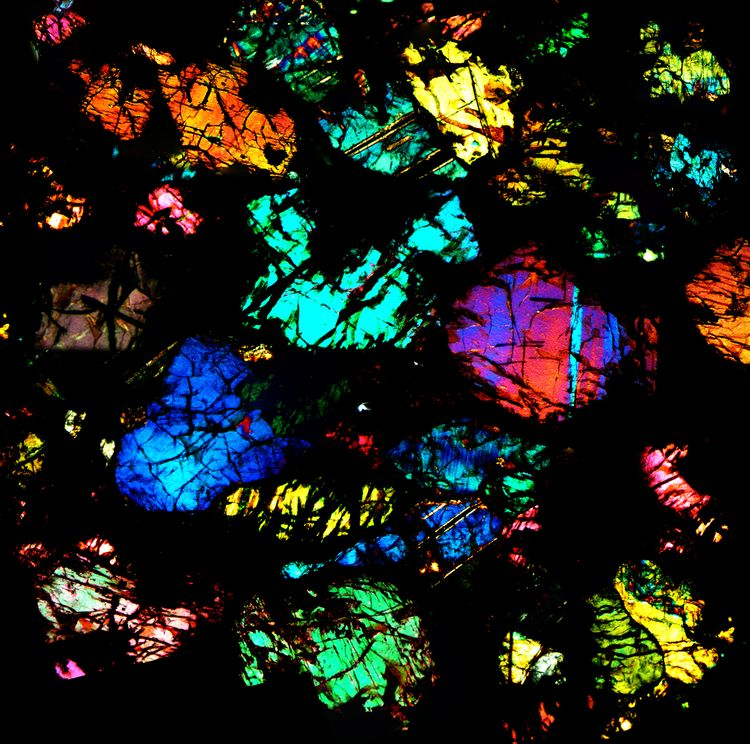 UREILITE thin section