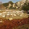 Red Creeks in the Western Alps