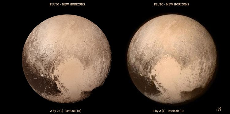 Pluto last before flyby and 2 by 2 ed 2 smish