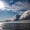 Roll Cloud Barrels Across Lake Michigan