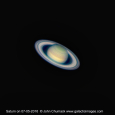 Saturn and Its Rings in July, 2016
