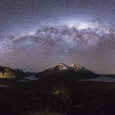 Patagonia and Milky Way Panorama