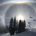 Alta Ski Resort Halo Display