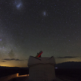 Magellanic Clouds Above El Leoncito National Park