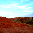 Colorful Landscape of Zhangye Danxia Geopark, China