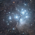 The Pleiades, Dust Clouds and Observing With Longer Exposure Times