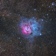 Wide-Field View of the Trifid Nebula