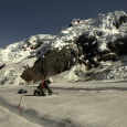 Sampling Snow in the Cordillera Blanca of Peru