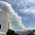 Pyrocumulus Clouds Over Los Angeles County, California