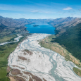Braided River System Near Glenorchy New Zealand