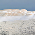 Red Snow on Monte Sirente, Italy