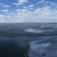 Ice-Out on Sebago Lake, Maine, 2015