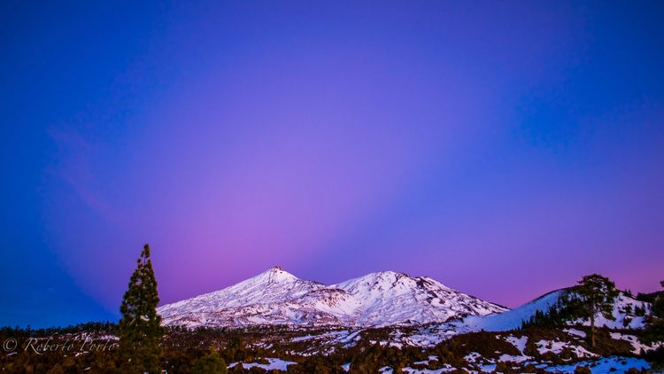 AFTERGLOW AND ANTICREPUSCULAR TEIDE1-2