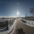 Analemma of the Sun from Budapest, Hungary