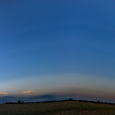 Sky-wide Rays: Crepuscular and Anticrepuscular Rays Panorama