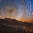 Star Trails as Viewed from Las Campanas Observatory, Chile