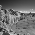 Infrared View of Yosemite from Olmsted Point