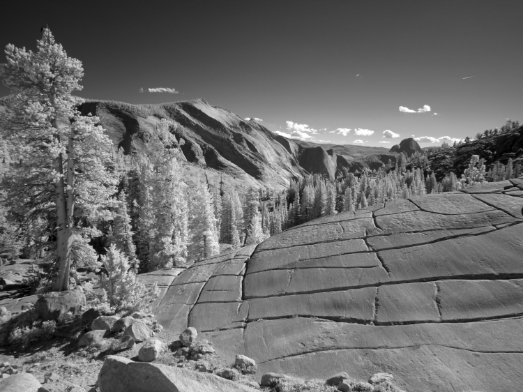 Olmsted Point & Half Dome IR (1)