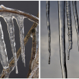 Air Bubble Formation in Icicles